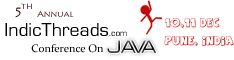 5th Annual IndicThreads Conference On Java to be held in Pune, India
